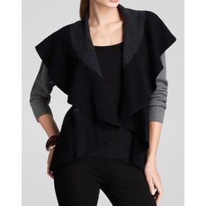 Eileen Fisher Oval Flutter Cardigan Sweater NWT